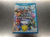 NINTENDO Wii U Game SUPER SMASH BROS FOR WII U